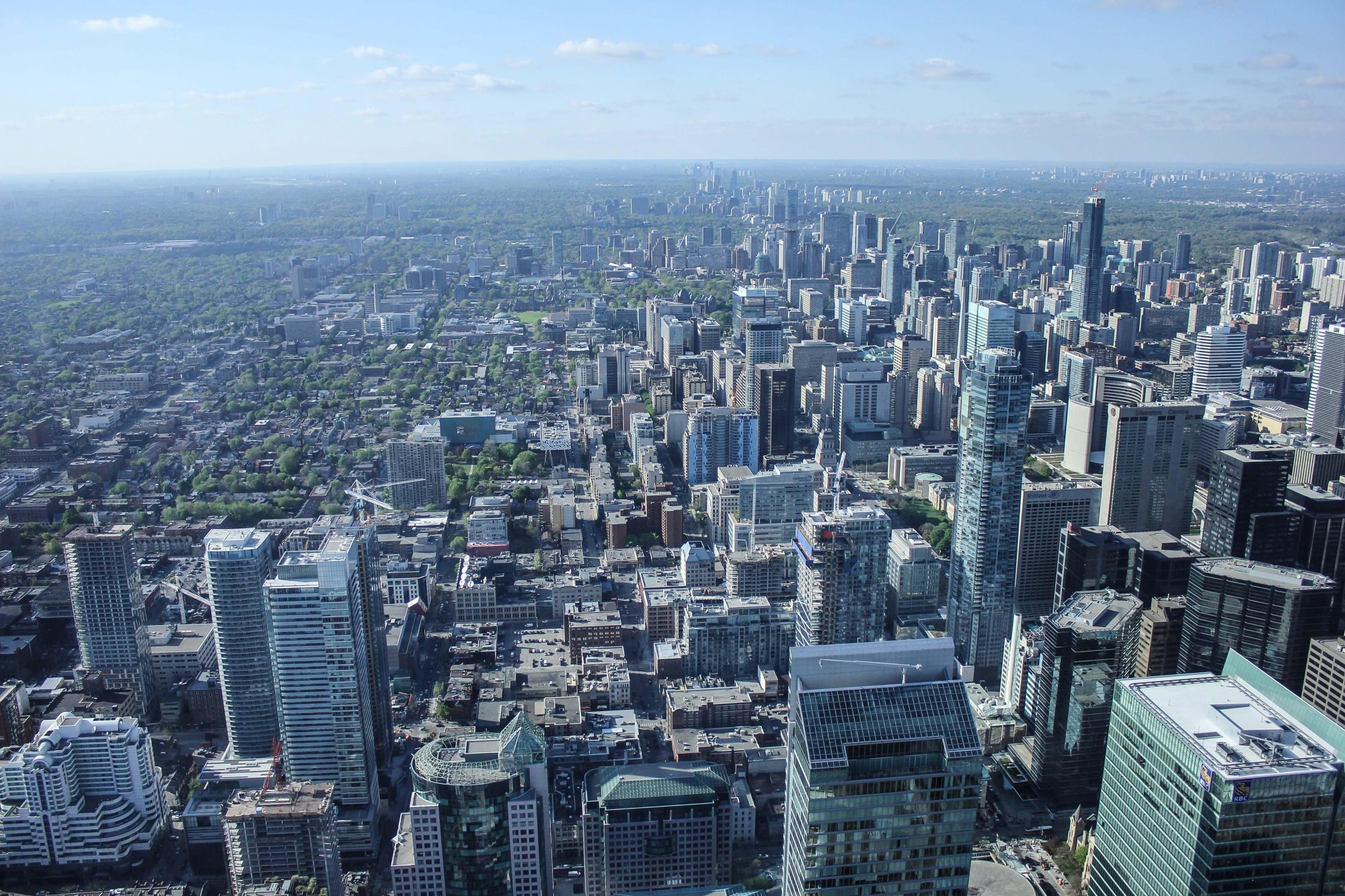 View of Toronto Financial Services District
